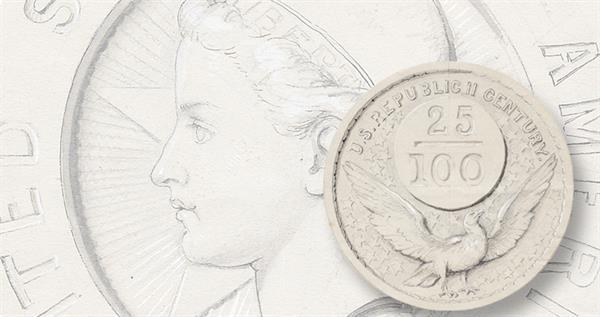1877-quarter-dollar-commen-sketches-lead