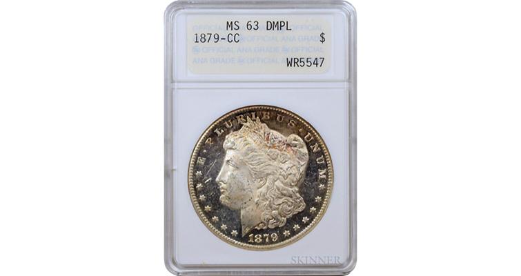 1879 -CC Morgan dollar