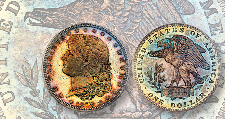 1879 Morgan Schoolgirl dollar