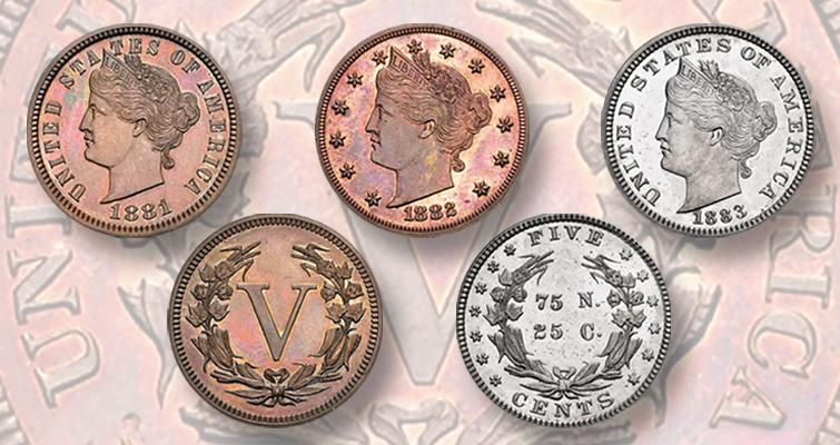 Liberty nickel patterns