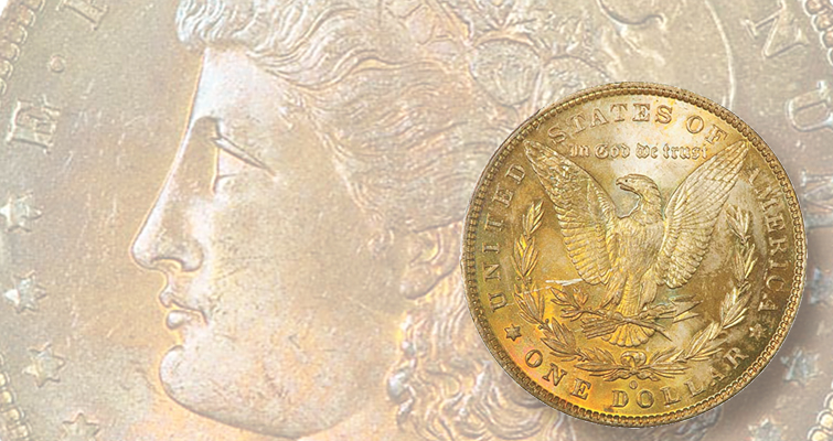 Rare in high grades, 1882-O Morgan dollar given MS-66+ designation realizes $9,900