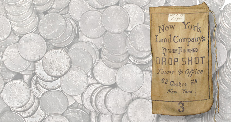 1883 Liberty Head 5-cent hoard lead
