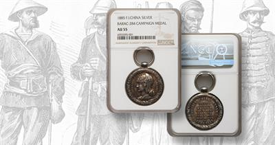 1885 French Tonkin Campaign medal
