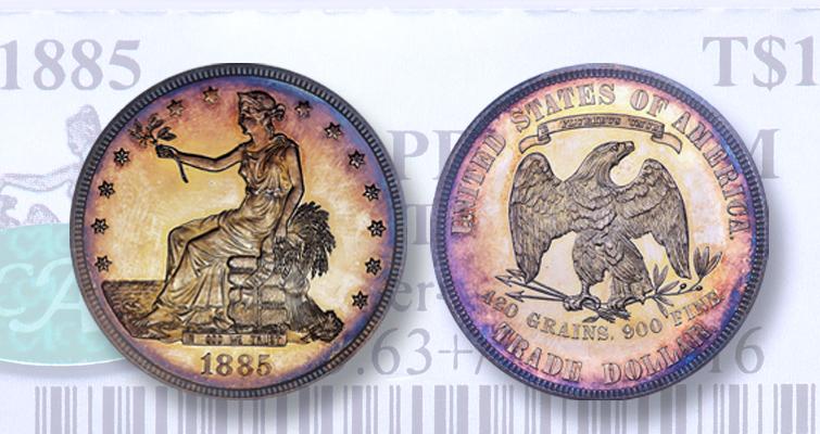 1885 Trade Dollar