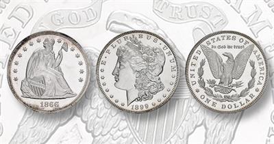 1866 dollar and 1899 dollar