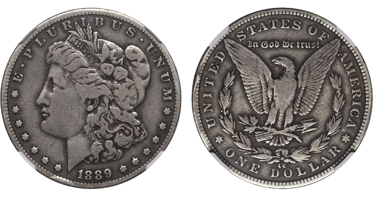 Key date 1889-CC Morgan dollar struck just after Carson City Mint resumed silver dollar production: Market Analysis