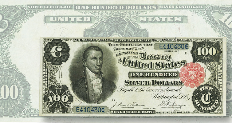 Normalcy returns to paper money market as large-size notes top Heritage auction