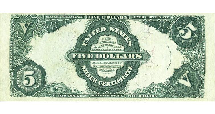 1891-5-dollar-silver-certificate-ha-back