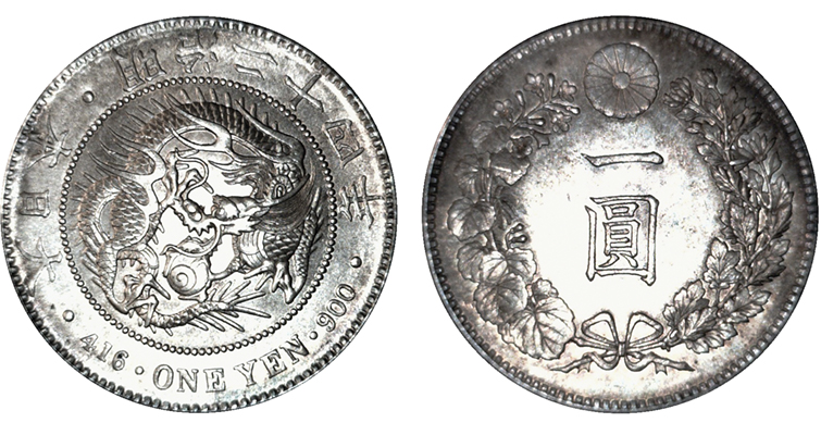 fake 1891 japanese yen identified by anacs coin world