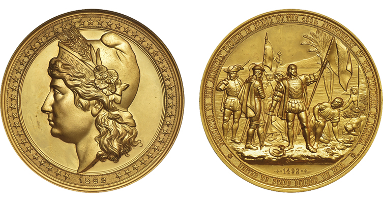 1892 World's Columbian Exposition medal