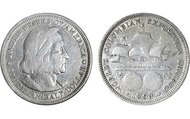 1893 commemorative coin found in roll 122 years after issue