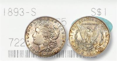 1893-S Morgan Dollar