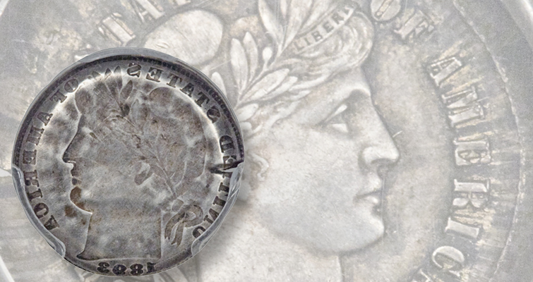 'Dramatic error' the draw of this 1893 Barber dime: Market Analysis