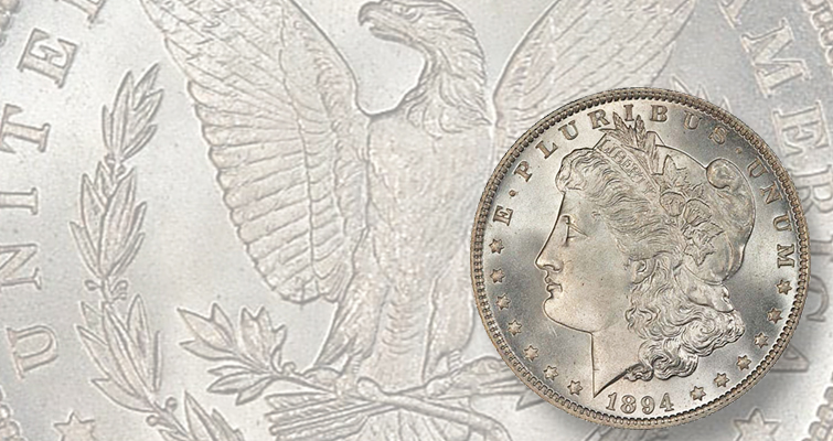 MS-66+ CAC 1894 Morgan dollar realizes $152,750: Market Analysis