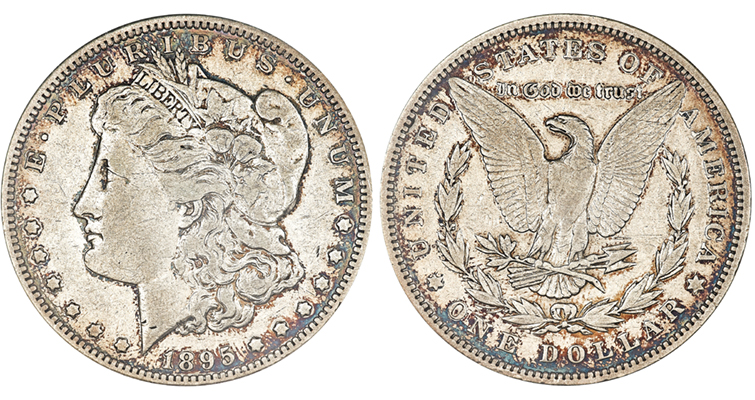 Proof 1895 Morgan dollar
