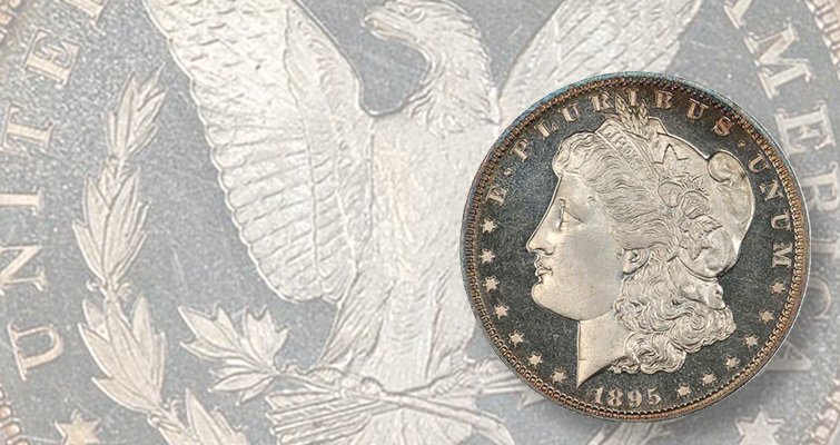 Key-date Proof 1895 Morgan dollar heads to auction block in Las Vegas