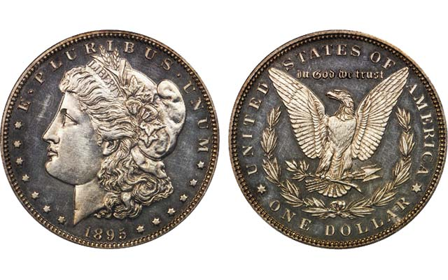 Low-mintage 'King of Morgan dollars' example sells for nearly $40,000