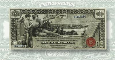 1896 $1 note