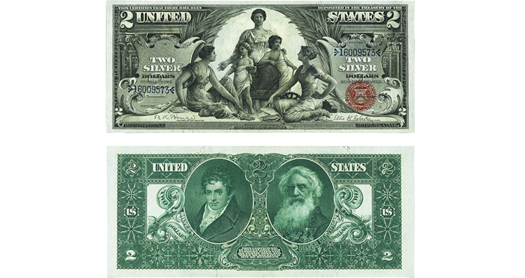 1896 Silver Certificates Were Beautiful Failures Coin World