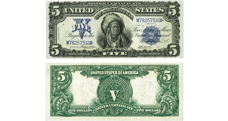1899-f278-5-dollar-indian-chief-silver-certificate