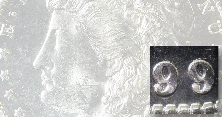 VAM-7 1899-S Morgan dollar suffers errant blow from gang punch for date