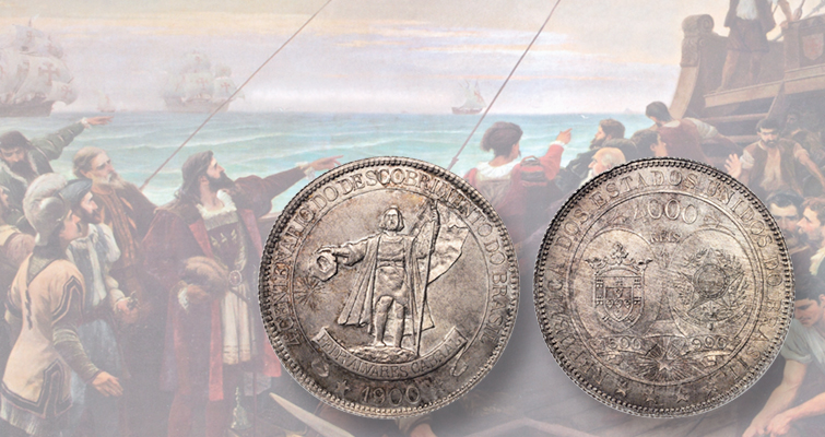 Brazil celebrates discovery by Portuguese explorer with commemoratives: On the Block