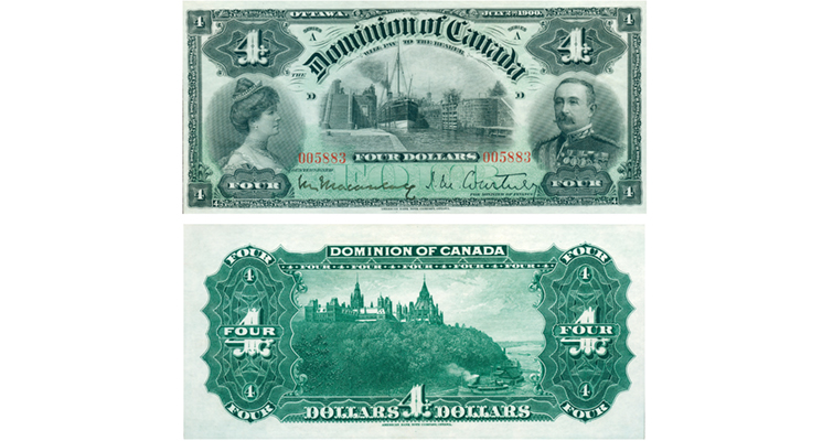 1900-canadian-4-dollar-note