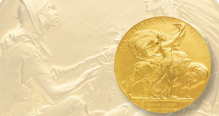 1901 Pan-American Exposition gold medal coming to auction Feb. 24