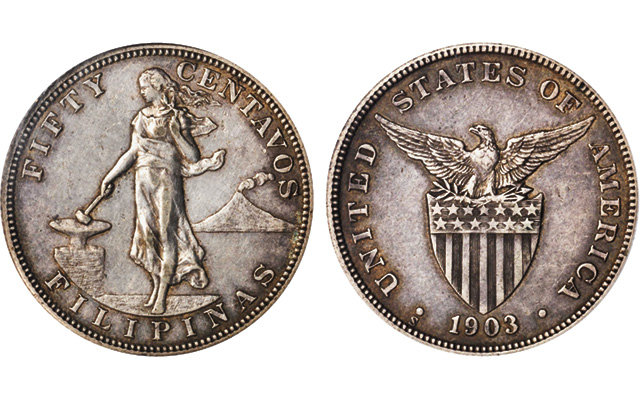 U.S.-Mint-struck Filipino silver coinage highlights Stack's auction in New York City