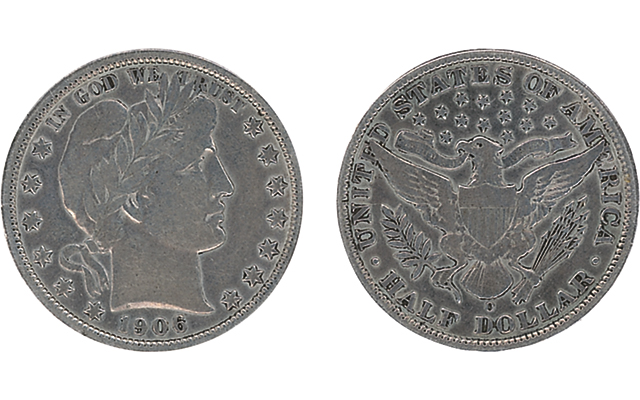 1906-O half dollar from Titanic victim realizes $20,974.45 in online auction