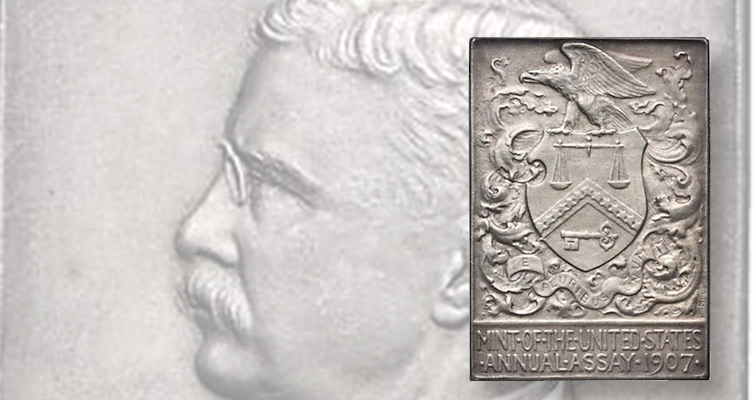 1907 Assay Commission silver medal