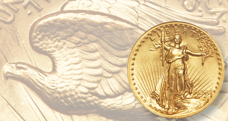 What makes this 1907 Saint-Gaudens, High Relief gold double eagle high-end?