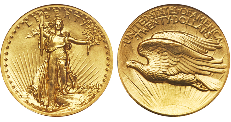 1907-saint-gaudens-high-relief-double-eagle-gem-obverse-reverse