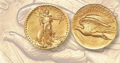 1907 St. Gaudens double eagle