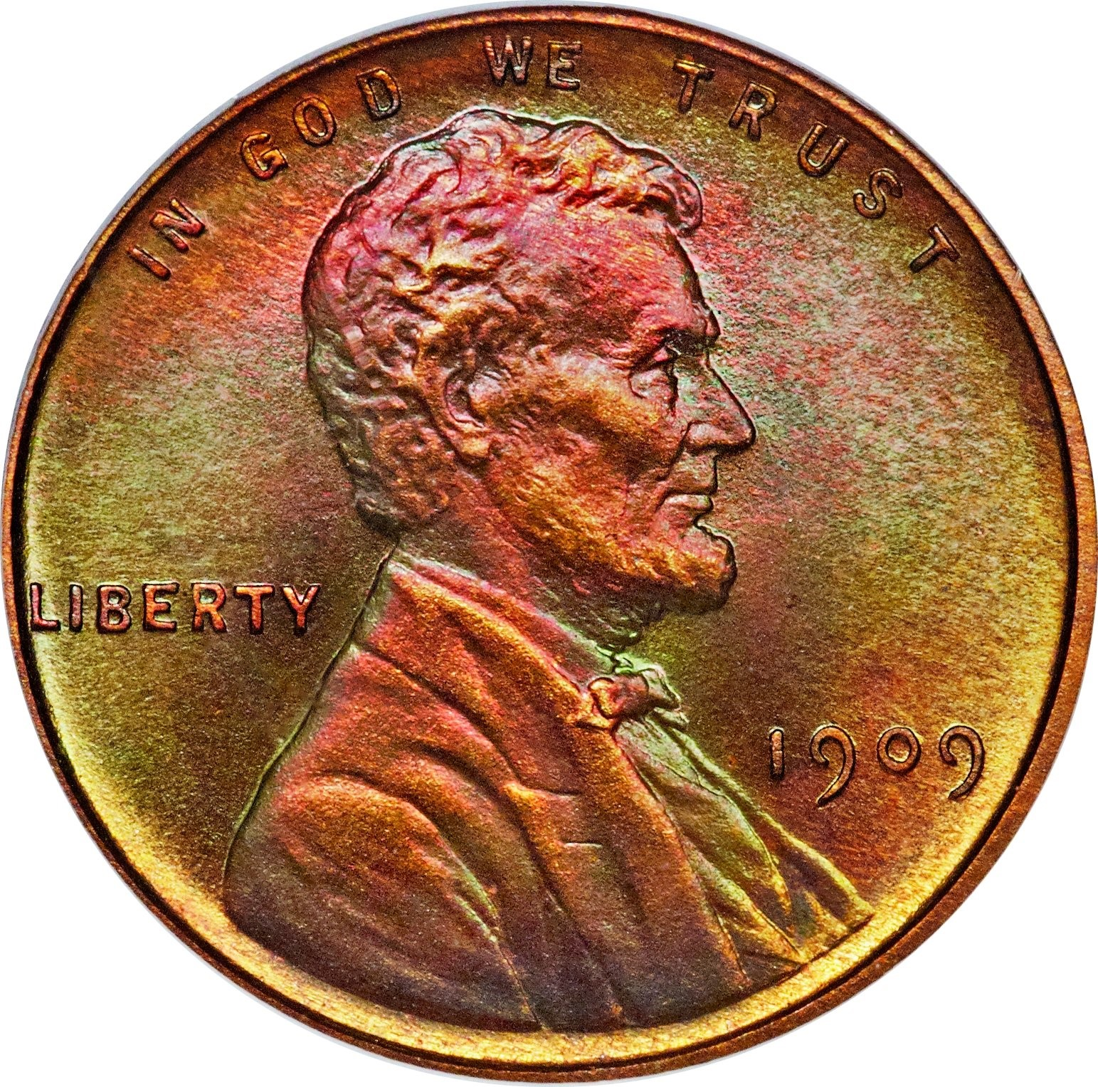 This Proof 1909 Lincoln, V.D.B. cent sold for a breathtaking $258,500 at Heritage Auctions' ANA U.S. Coins Signature Auction in early August 2014. The coin is a Proof 67+ red and brown PCGS Secure coin with a gold CAC label.