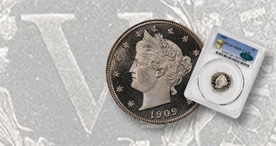 Proof 68+ Liberty Head 1909 5-cent