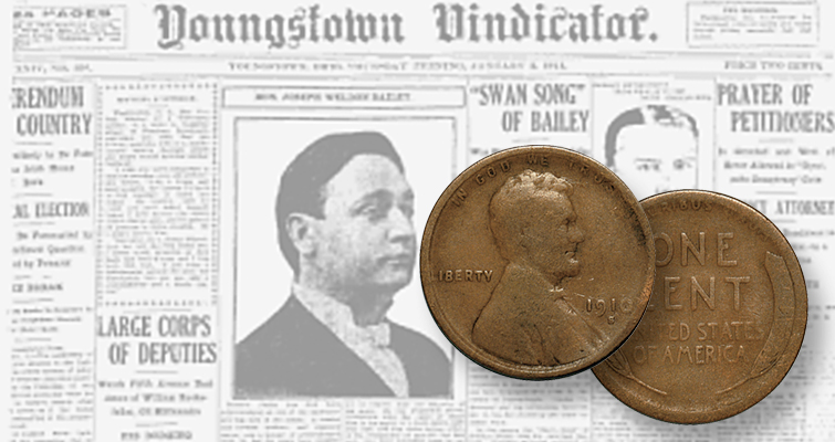 Ohio's Youngstown Vindicator cost 2 cents in 1913 and could be purchased with two Lincoln cents. Today, it costs 75 cents — three Washington quarters. Old newspapers are a great source for information about prices in the past.