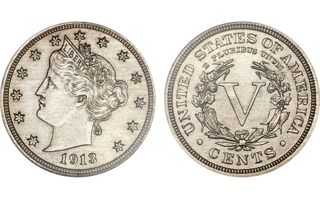 Forty years after it became a television star, the Olsen specimen of the 1913 Liberty Head 5-cent piece can still turn heads. It sold for $3.3 million at auction in 2014.
