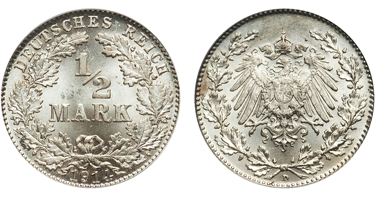 1914-d-germany-half-mark-pcgs-ms-62-her-coin