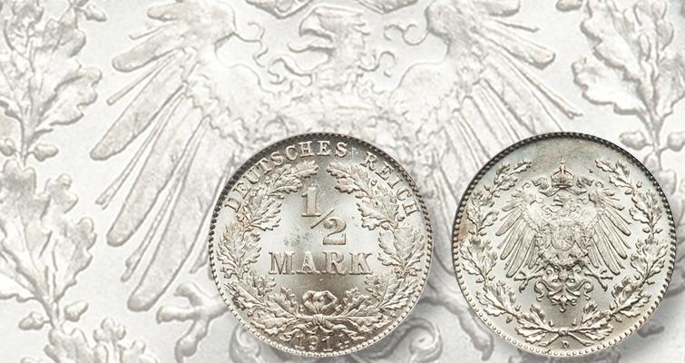 1914-d-germany-half-mark-pcgs-ms-62-her-lead