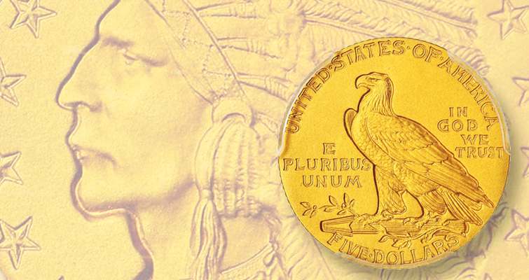 Indian Head $5 half eagle