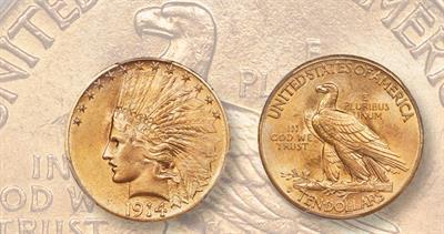 1914-S eagle
