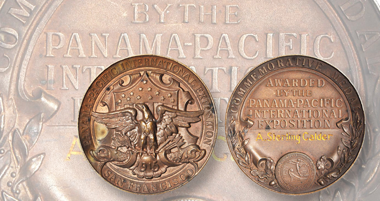 1915 Panama-Pacific International Exhibition commemorative medal