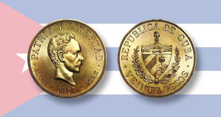 foto de Pre-Castro Cuban gold set shines in Sedwick auction