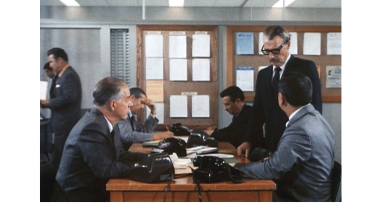 scene from episode of Dragnet 1970