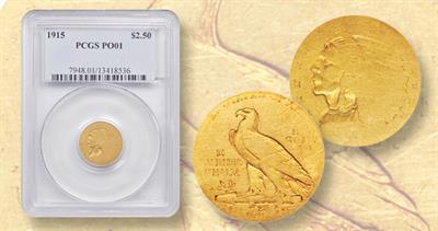 1915 Indian Head $2.50