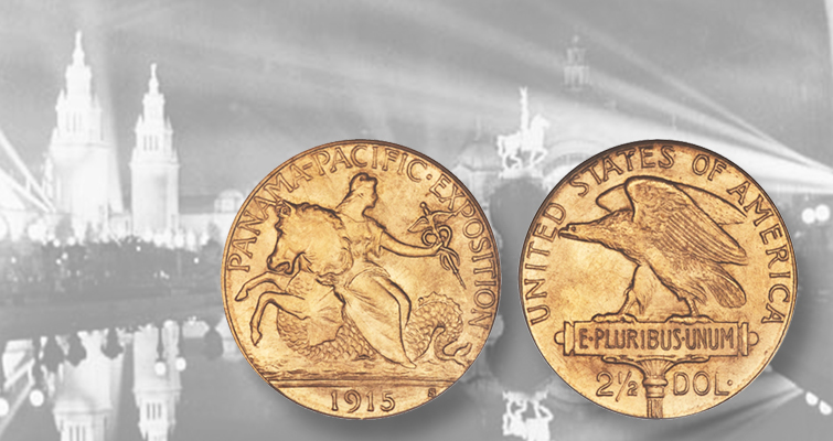 Pan-Pac gold quarter eagle