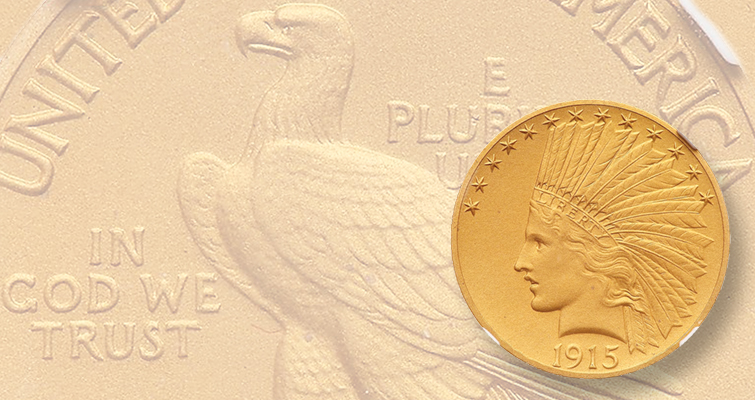 Indian Head gold $10 eagle realizes five figures: Market Analysis