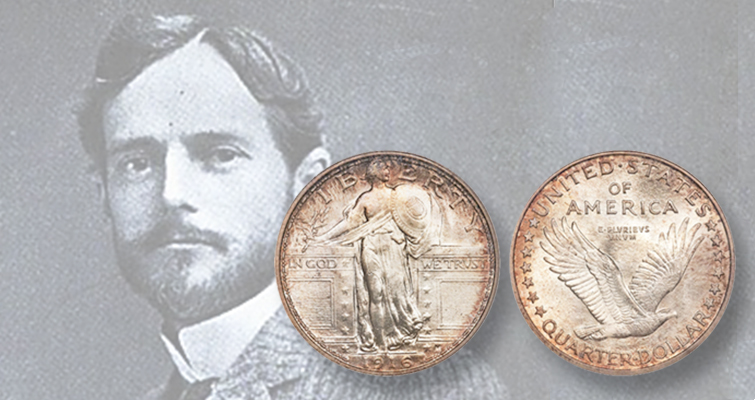 Standing Liberty quarter dollar celebrates centennial