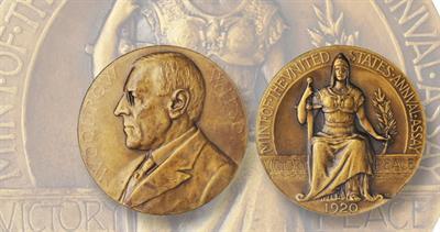 1920 medal